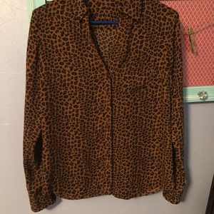 The limited leopard dress shirt
